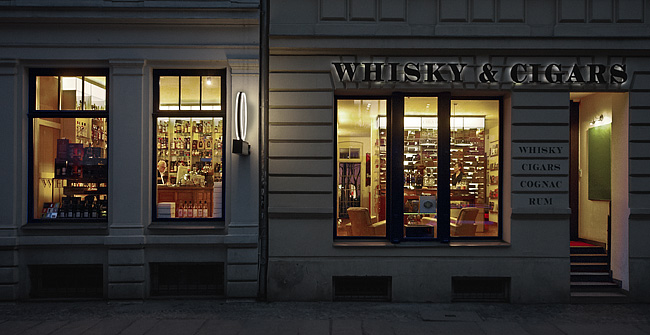 Whisky & Cigars in der Sophienstraße 8-9