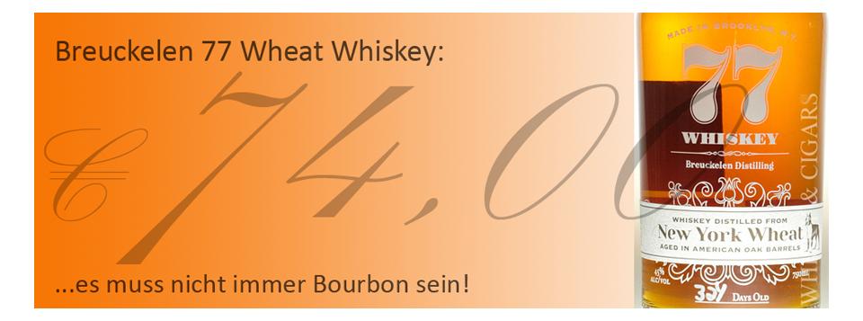 Breuckelen 77 New York Wheat Whiskey