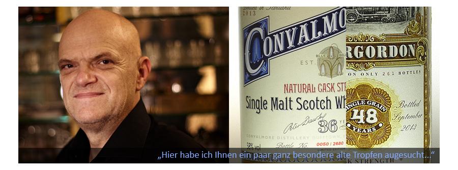 Raritäten, alte Whiskys, alte Jahrgänge
