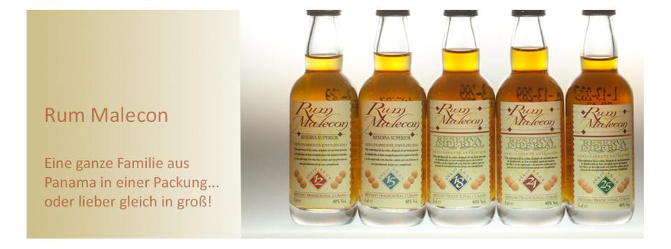 Malecon Rum aus Panama