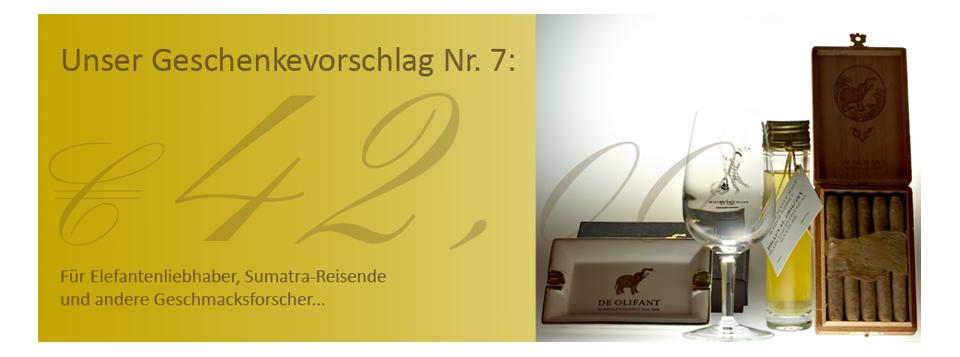 Olifant Sumatra Aschenbecher Braeval Miniatur Geschenkset