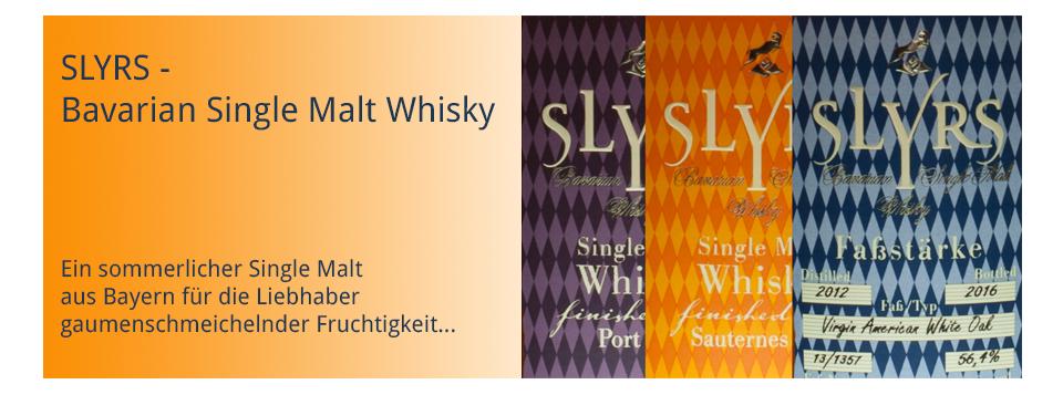 Slyrs - Bavarian Single Malt Whisky, sommerlich-fruchtiger Whiskygenuss vom Schliersee