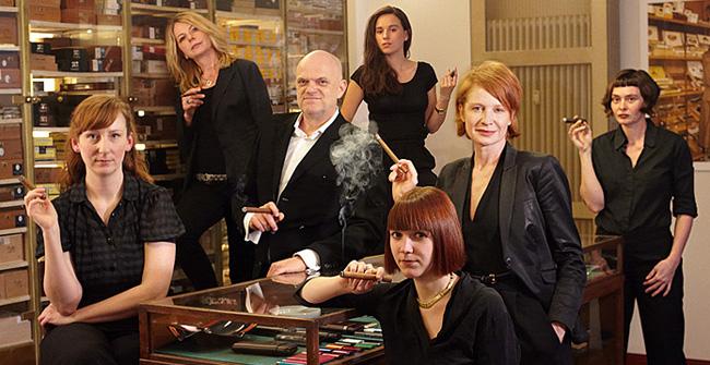 Whisky & Cigars Team, Sophienstraße, kubanische Zigarren