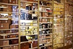 Blick auf die Zigarrenvielfalt